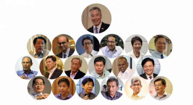 cabinet reshuffle - image source SPH