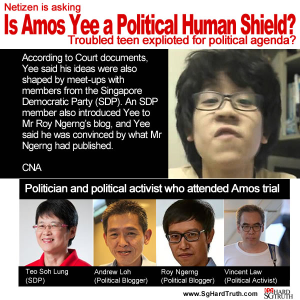 Is Amos Yee a Political Human Shield?