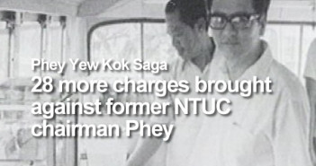 Phey Yew Kok Saga - 28 more charges brought against former NTUC chairman