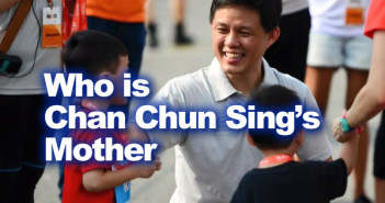 Chan Chun Sing's mother