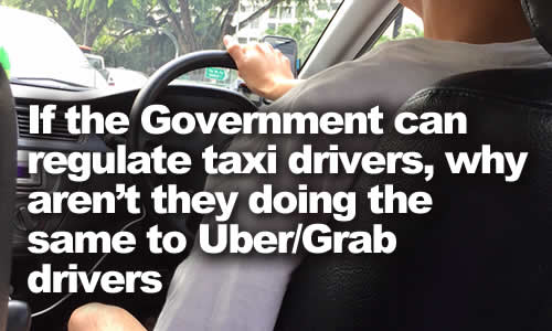 Regulate Uber Grab