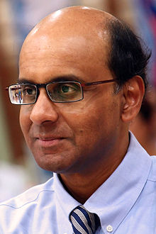Tharman Shanmugaratnam Deputy Prime Minister and Finance Minister of Singapore