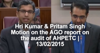 AHPETC Saga - The WP Should Do The Right Thing: Mr Hri Kumar