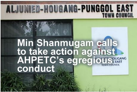 AHPETC Saga - Law Minister K Shanmugam says the High Court made it clear that the HDB and residents have the right to apply for court action against AHPETC.