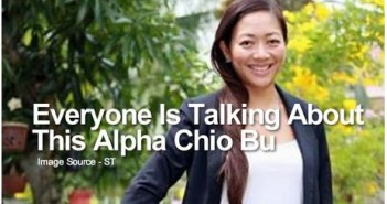 Dating Singapore - Everyone Is Talking About This Alpha Chio Bu