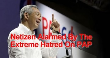 Netizen Alarmed By The Extreme Hatred on PAP