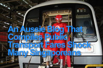 An Aussie Blog That Compiles Public Transport Fares Shock Many Singaporeans