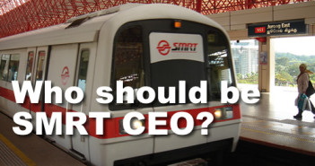Who should be SMRT CEO?