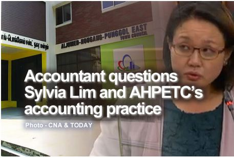 Accountant questions Sylvia Lim and AHPETC's accounting practice