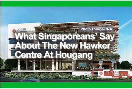 The New Hawker Centre At Hougang