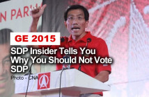 SDP Insider Tells You Why You Should Not Vote SDP