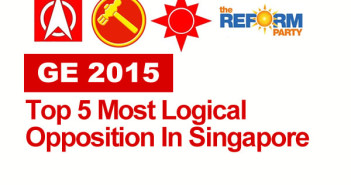 GE 2015 - Top 5 Most Logical Opposition In Singapore