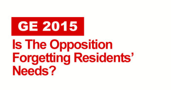 Is The Opposition Forgetting Residents' Needs?