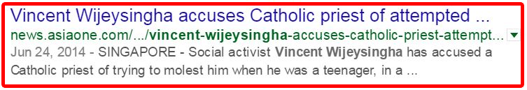 Vincent Wijeysingha accuses Catholic priest of attempted.fw