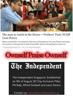 The Independent Singapore was found by Leon Perera of Workers Party